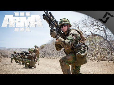 Pathfinders Behind Enemy Lines - ArmA 3 - Dutch 11th AMB - 1st Person 1440p60