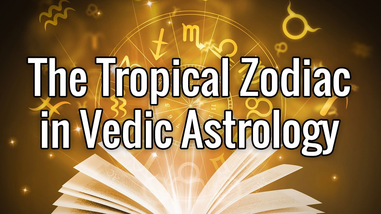 The Tropical Zodiac in Vedic Astrology, with Vic DiCara