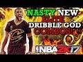 NBA 2K17 NASTY NEW DRIBBLE GOD COMBO DRIBBLE MOVES!! HOW TO CHEESE!!