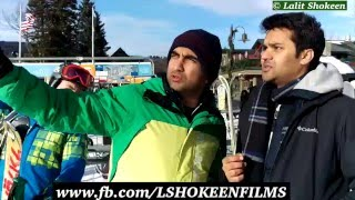 When Desi went for Skiing - | Lalit Shokeen Comedy |