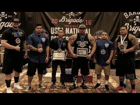 STRENGTH CARTEL TAKE OVER | POWERLIFTING NATIONALS | LAS VEG