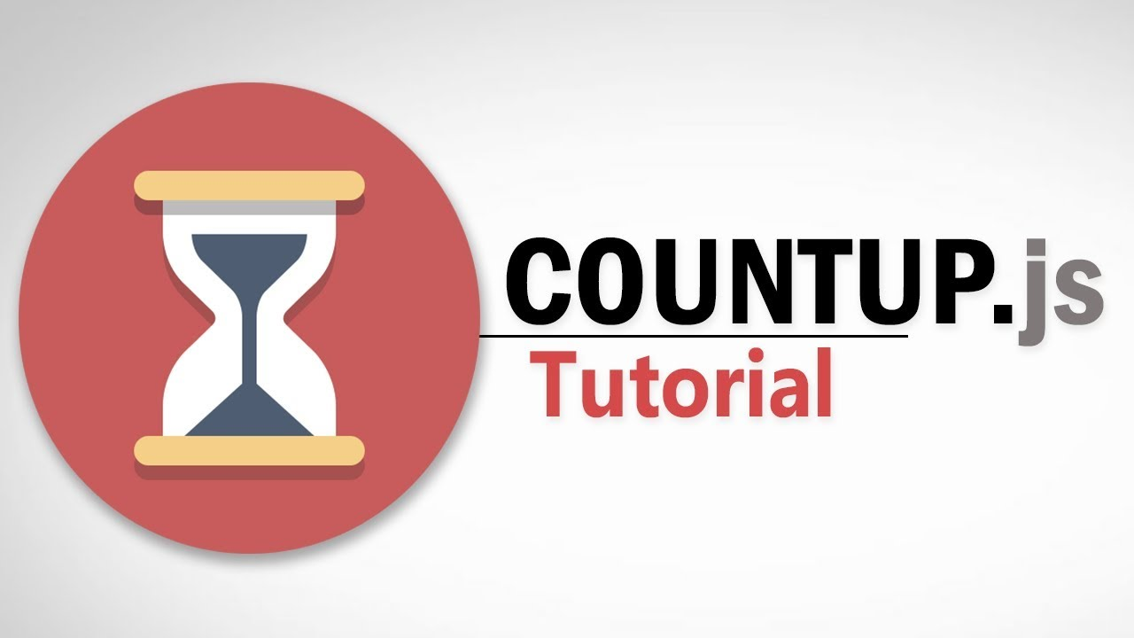 Countup js Tutorial | Javascript Counting Animation