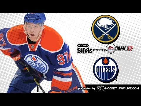 Sabres vs Oilers (NHL 17 Hockey Sims)