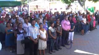 Realizan boda masiva en el municipio de Quechultenango