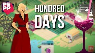 Hundred Days Review | Strategic wine crafting (Video Game Video Review)