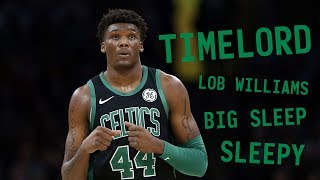 "Why is Robert Williams' nickname ""Timelord""?"