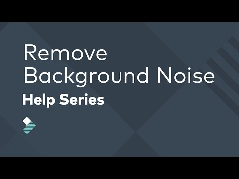 How to Remove Background Noise From Audio/Video in Filmora