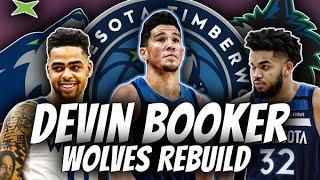 Bringing the BEST FRIENDS Together   Devin Booker to the Minnesota Timberwolves Rebuild   NBA 2K20