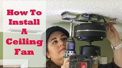Homeowner DIY: Let's Replace A Ceiling Fan!