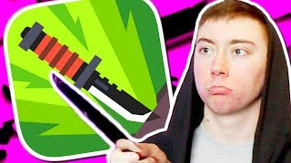 FLIPPY KNIFE (iPhone Gameplay Video)