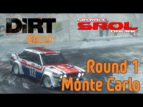 DiRT Rally - SROL Championship Round 1: Monte Carlo