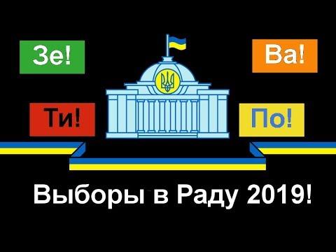 Выборы в Раду 21.7.2019! Прогноз!