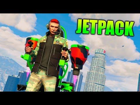 JETPACK!! PROBANDO EL NUEVO JETPACK Doomsday Heist DLC *Dia del Juicio Final* - GTA 5 ONLINE GTA V