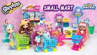 Shopkins Pick N Pack Small Mart with Shoppies Jascenta and Friends