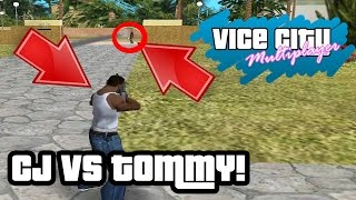 CJ VS TOMMY KAPIŞTI! - GTA Vice City ONLİNE