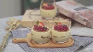 不用烤箱也能做出最正宗的「提拉米苏」,来尝一口这甜蜜的滋味