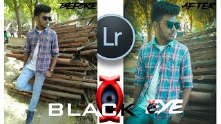 Lightroom Mobile Tutorial   Best Photo Editing   BLACK EYE