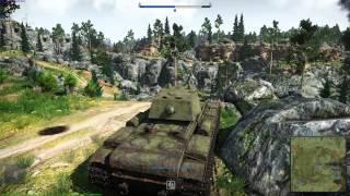 War Thunder KV-1 ZIS-5 Gameplay Max Settings 1080p
