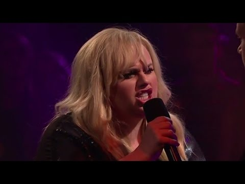 Rebel Wilson Takes On James Corden & David Schwimmer In EPIC Rap Battle