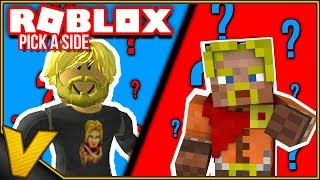 WHAT DO YOU PREFER: ROBLOX OR MINECRAFT? :: Pick a Side Roblox english