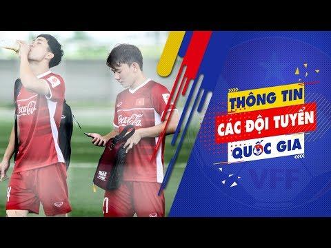 Những khoảnh khắc hài hước trong buổi tập U23 Việt Nam   VFF Channel