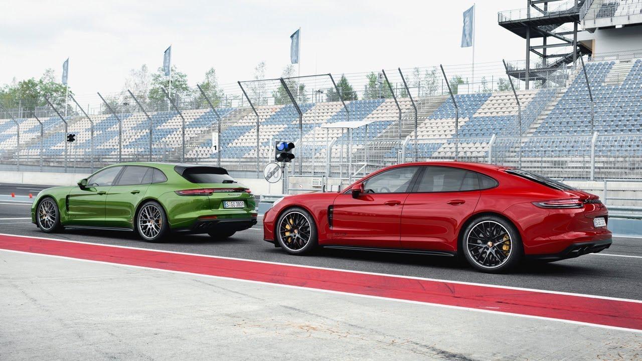 2019 Porsche Panamera GTS and Panamera GTS Sport Turismo
