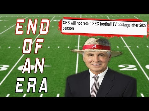SEC On CBS OVER In 2023 | The END Of An ERA