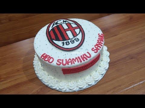 Dekorasi Cake Kue Ulang Tahun Ac Milan Untuk Suami Tersayang