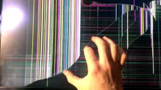 видео треснула матрица ноутбука