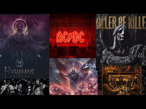 Best albums Nov 2020 - Killer Be Killed/AC/DC/Sodom/Pyramaze and more!