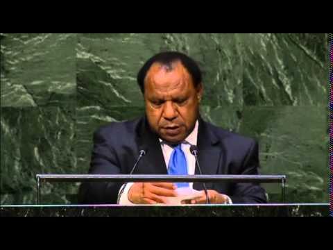 Papouasie-Nouvelle-Guinée - Débat 2014 de l'Assemblée générale de l'ONU