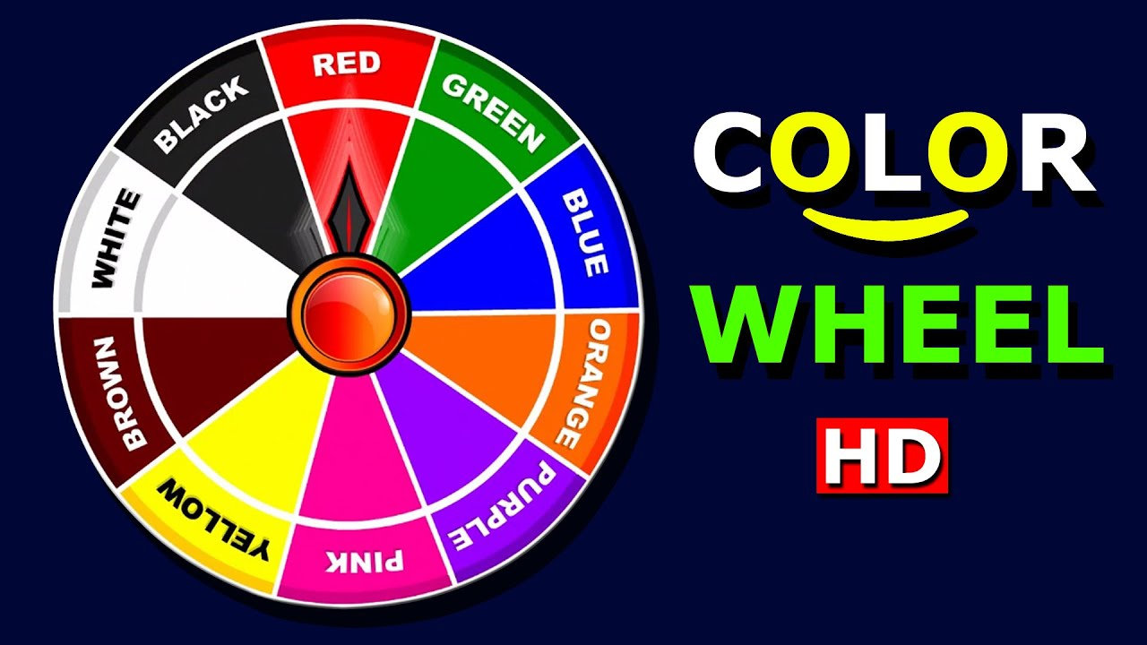 Fun Learning Color Wheel For Kids