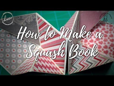 How to Create a Squash Book [DIY Video Tutorial]