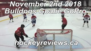November 2nd 2018 Bulldogs Hockey Goalie GoPro Yi 4K+