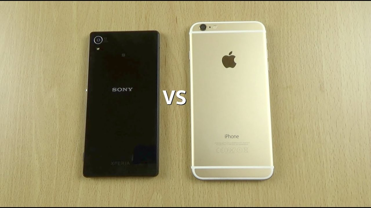 Xperia z3 vs iphone 6 plus