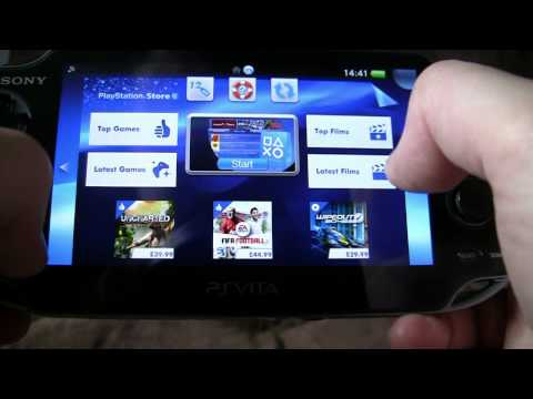 A look at a PS Vita