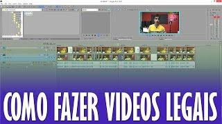 Como Fazer Videos Legais - Dicas #07 - Multicameras