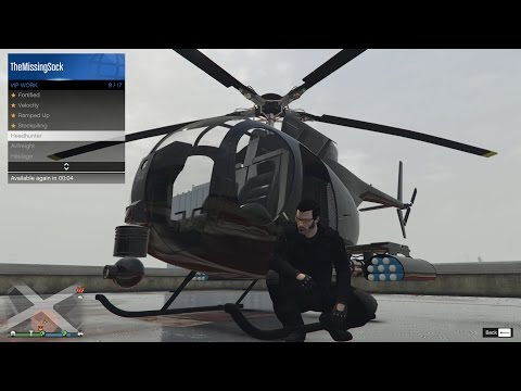 Ep85 CEO VIP Headhunter Mission How To By Buzzard! - Let's Play GTA 5 Online PC 1080p HD