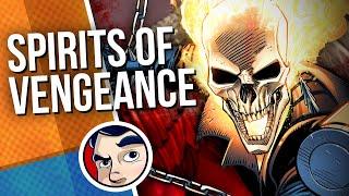 "Spirits of Vengeance ""Ghost Rider & Blade"" | Comicstorian"