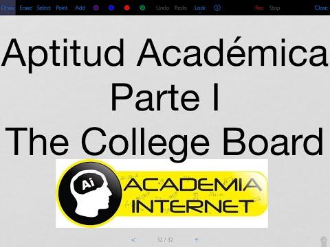 The College Board - Aptitud Académica I, Razonamiento Verbal