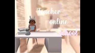 Teacher Online school