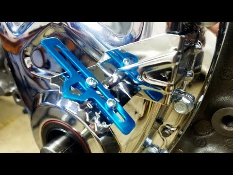 Engine Building Part 6 - Timing chain Cover and Seal, and Lock Washers Chevy Small Block Chevy 350