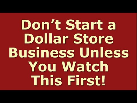 How To Start A Dollar Store Business | Including Free Dollar Store Business Plan Template