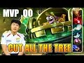 Dota 2 MVP.QO Timbersaw Cut All The Tree! Ranked match Highlight 7825 MMR