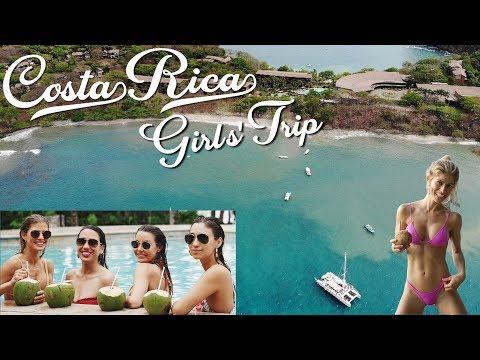 COSTA RICA Girls' Trip!! So fun! | TRAVEL VLOG | Vacation Ideas