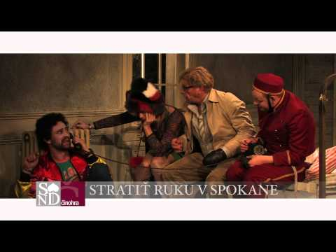 Martin McDonagh: Stratiť ruku v Spokane (TV Spot)