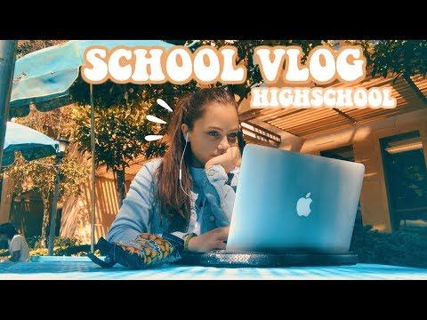 HIGH SCHOOL VLOG! Un día en mi escuela :) || Ana Díaz