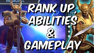 Heimdall Rank Up, Abilities & Gameplay - The True Strike King - Marvel Contest Of Champions