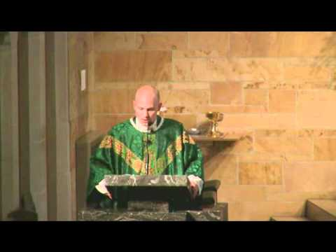 Homily to Cardinal Ritter Kids for First Mass