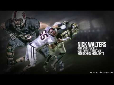 Nick Walters High School Football Highlights